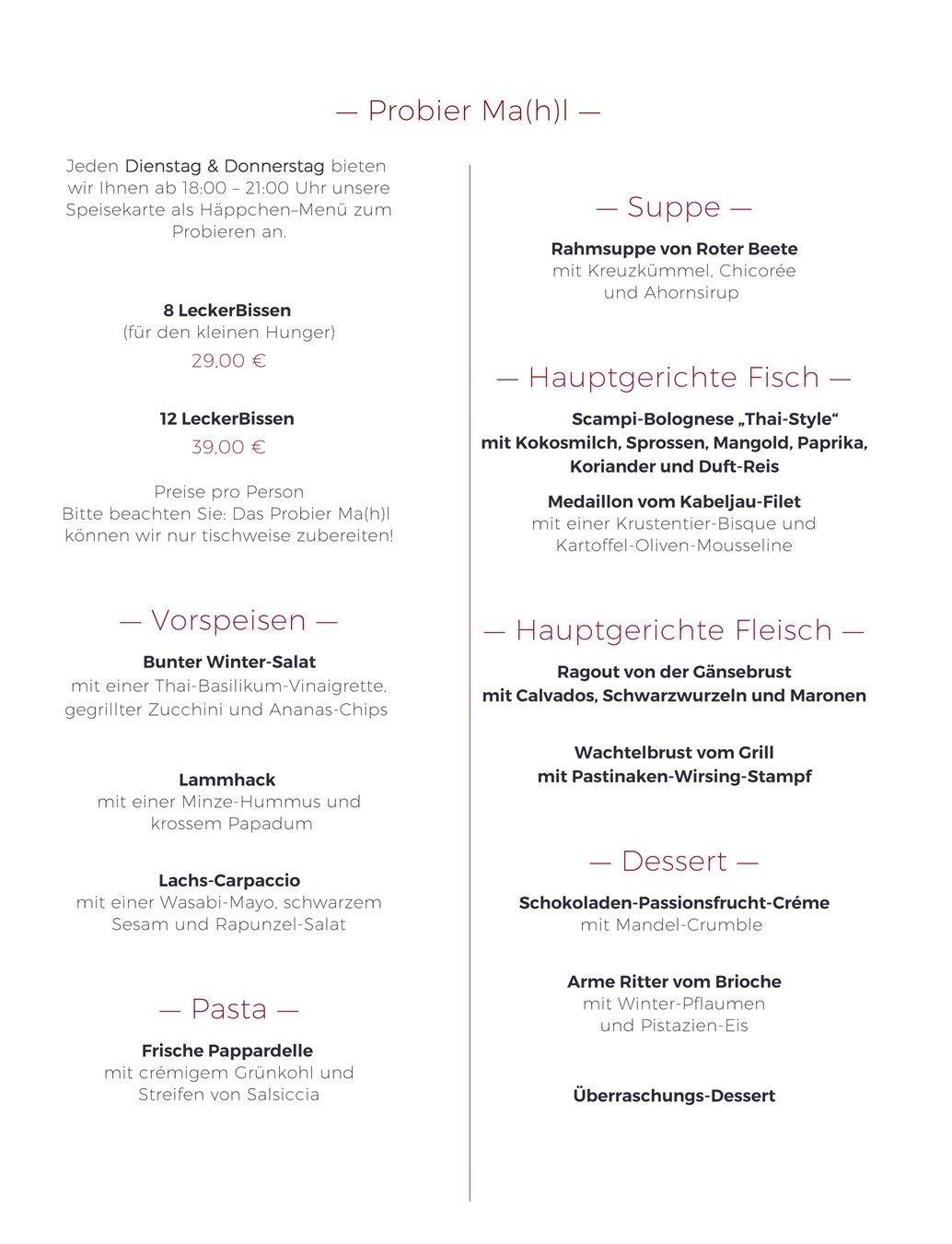 Atemberaubend Catering Menüvorlage Galerie - Entry Level Resume ...